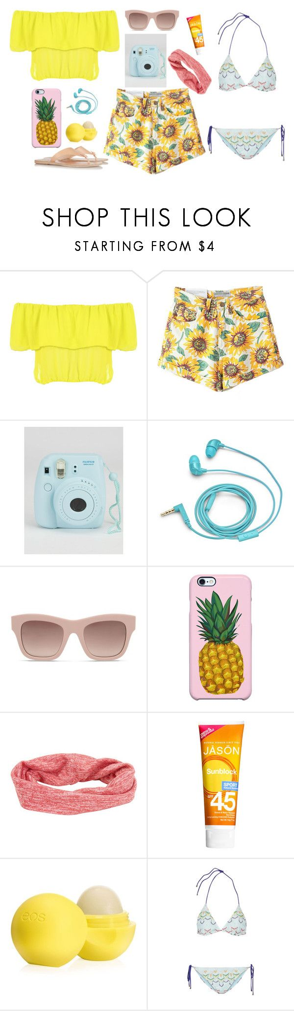 Sweet Summer by dinyvia on Polyvore featuring WearAll, Missoni, Ancient Greek Sandals, Uncommon, Aéropostale, STELLA McCARTNEY, FOSSIL, Eos, Jason and summerstyle