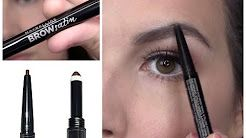maybelline eye brow filler tutorial  - YouTube