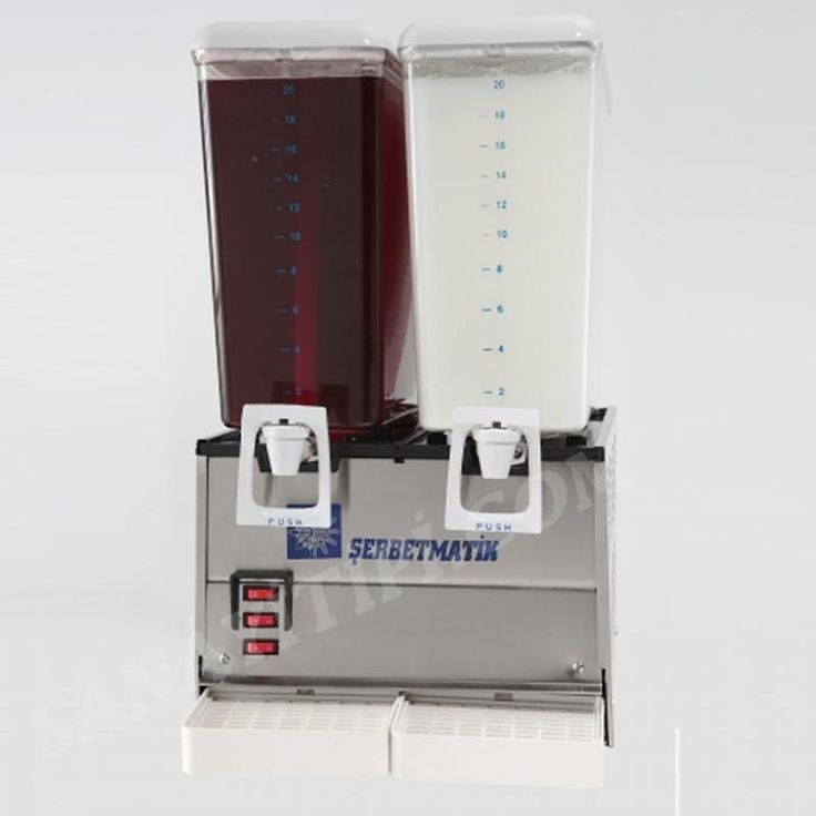 İkili Şerbetlik Ayran Limonata Makinası » şerbetlik ayranlık - Sanayi tipi
