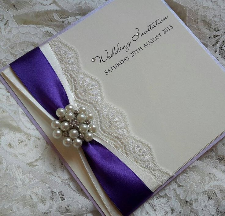 handmade wedding cards ireland%0A Duo ribbon and lace with pearl cluster  Wedding Scrapbook LayoutsInvitation  IdeasInvitation CardsWedding StationeryWedding InvitationsHandmade
