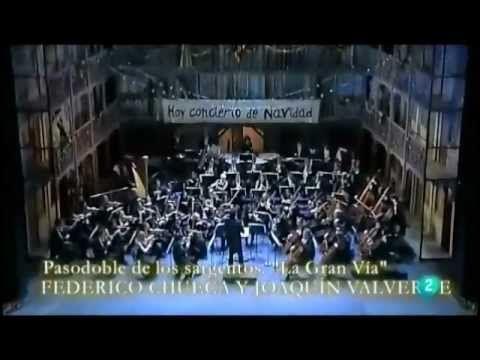 Concierto de Navidad. Orquesta de la Comunidad de Madrid. Desde el Teatr...