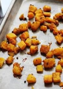 Geroosterde pompoen met Original Spices Ras-el-Hanout: een ideaal bijgerecht voor Oosterse gerechten, lamsvlees of couscous.