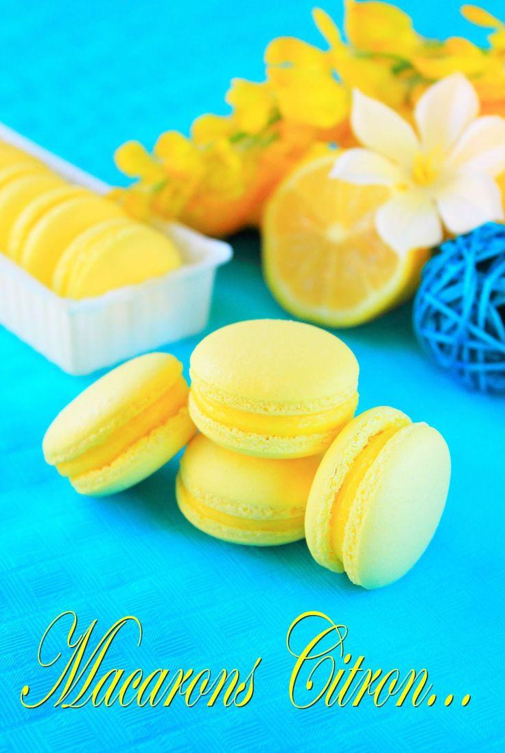Macaron citron5