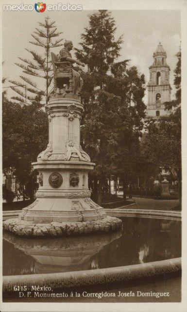 MonumentoalaCorregidora,DoñaJosefaOrtizdeDomínguez