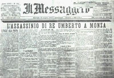 La Nostra Storia: Gaetano Bresci, un regicida nella Valle del Serchi...