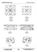 wrought iron fence panels (9)