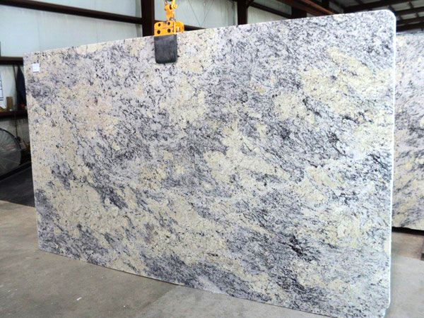 White Ice Granite Slab 723 Granite Slab Blue Granite