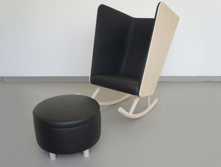 Private Rocker : Cranbrook For Herman Miller · Chair DesignFurniture ...