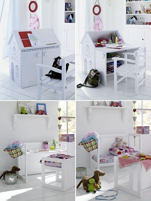 une cabane/bureau !