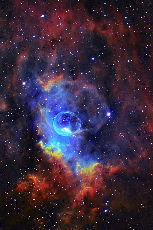 Bubble Nebula                                                       … #Majestic #Cosmic #puzzles