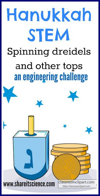 Share it! Science News : Saturday Science Experiment: Spinning Dreidels and othe... 2