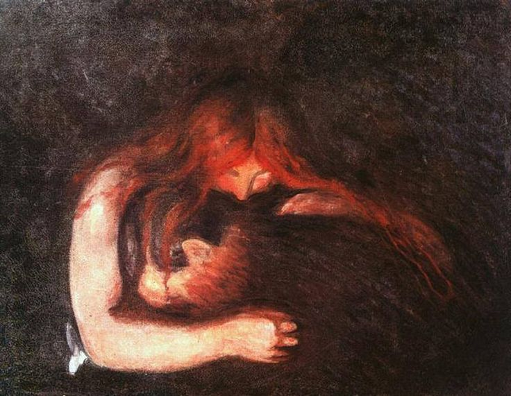 Edvard Munch- Vampire