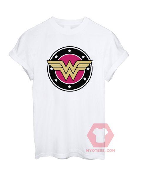 Custom Tees Wonder Woman Logo Unisex on Sale