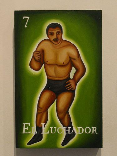 el luchador by teresa villegas