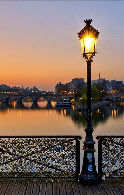 Pont des Arts or Passerelle des Arts is a pedestrian bridge in Paris which crosses the Seine River.
