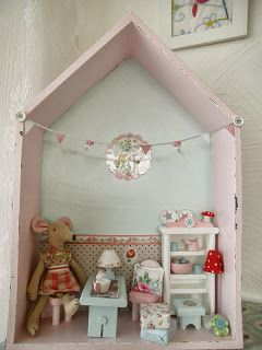 Lila Lavendel: lovely house for a tiny mouse!