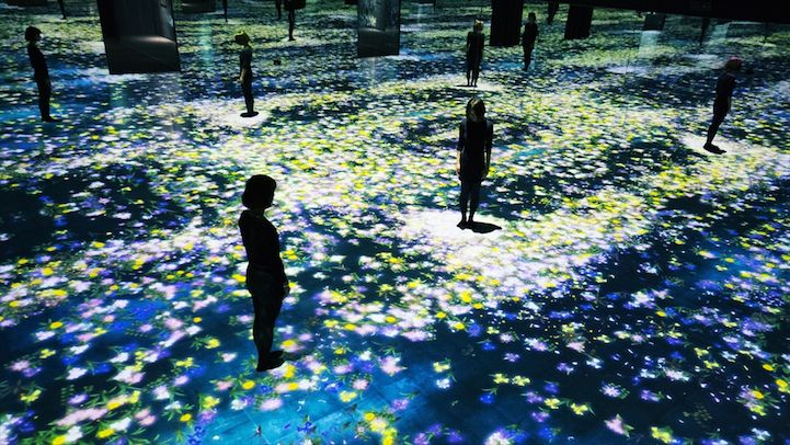 Interactive Digital Installation Features a Sea of Flowers that Magically Burst into Bloom