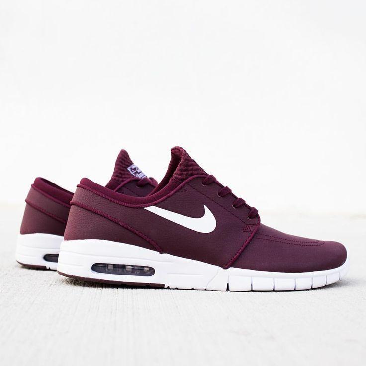 Nike SB Stefan Janoski Max: Burgundy