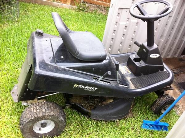 30 Deck Murray Craftsman Riding Mower The Boys Riding