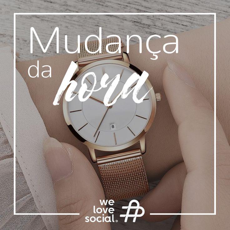 ⏰ Não se esqueça que este fim-de-semana muda a hora! 🌞 Na madrugada de Domingo chega o Horário de Verão e à 01h00 da manhã deverá então acertar o relógio para as 02h00.