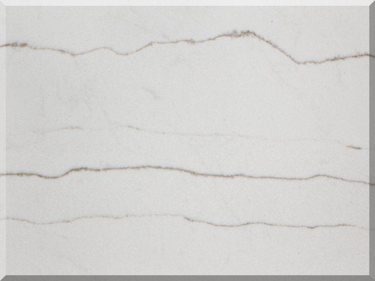 Bq8669 White Macaubas Vicostone Quartz Countertops