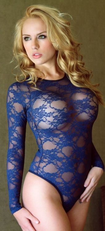 There's something about lacy 'bodies'….they hide and yet reveal at…, Sexy babe