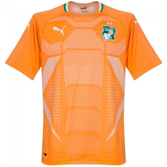 Camiseta Costa de Marfil 2018-2019 Local Tops, Football, Soc