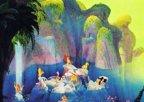 Mermaid Lagoon in Peter Pan