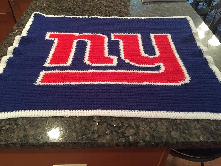 Ny Giants Crochet Afghan Pattern : 17 Best images about AngelicCrochetDesign Customer ...