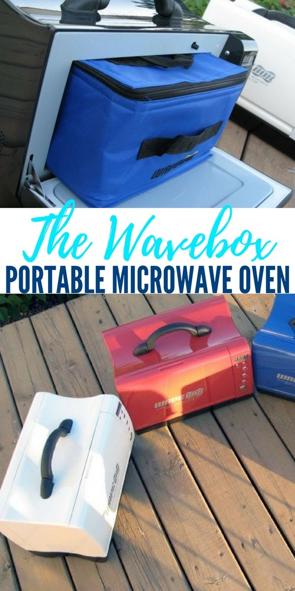 The Wavebox Portable Microwave Oven — The impact of the microwave oven on human grazing habits has been extreme. It can reheat frozen food or cook raw food in a fraction of the time required of a conventional oven and has brought the convenience of preparing food to new levels.