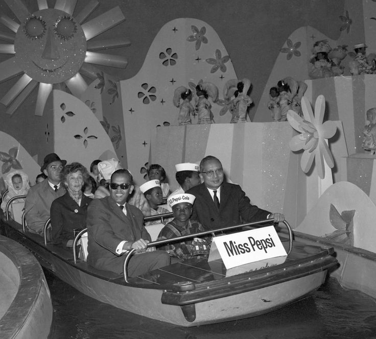 WORLDS FAIR-1964 (SECY. GEN. U. THANT OF THE U. N. AT THE FAIR) Secretary General U Thant (right) is joined by C. V. Narisiman (left), UN Un...