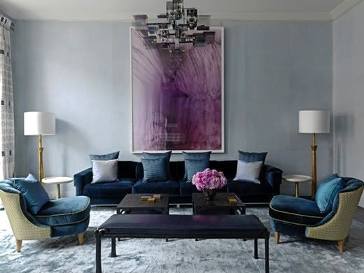 Everything Fabulous: Glamorous Decor in Jewel Tones!