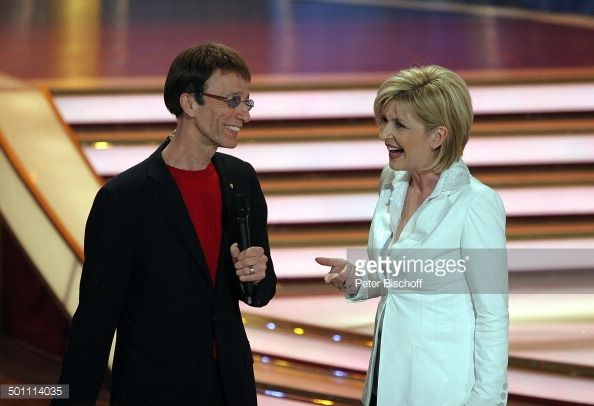 Nachrichtenfoto : Robin Gibb, Carmen Nebel, ZDF-Show 'Willkommen...