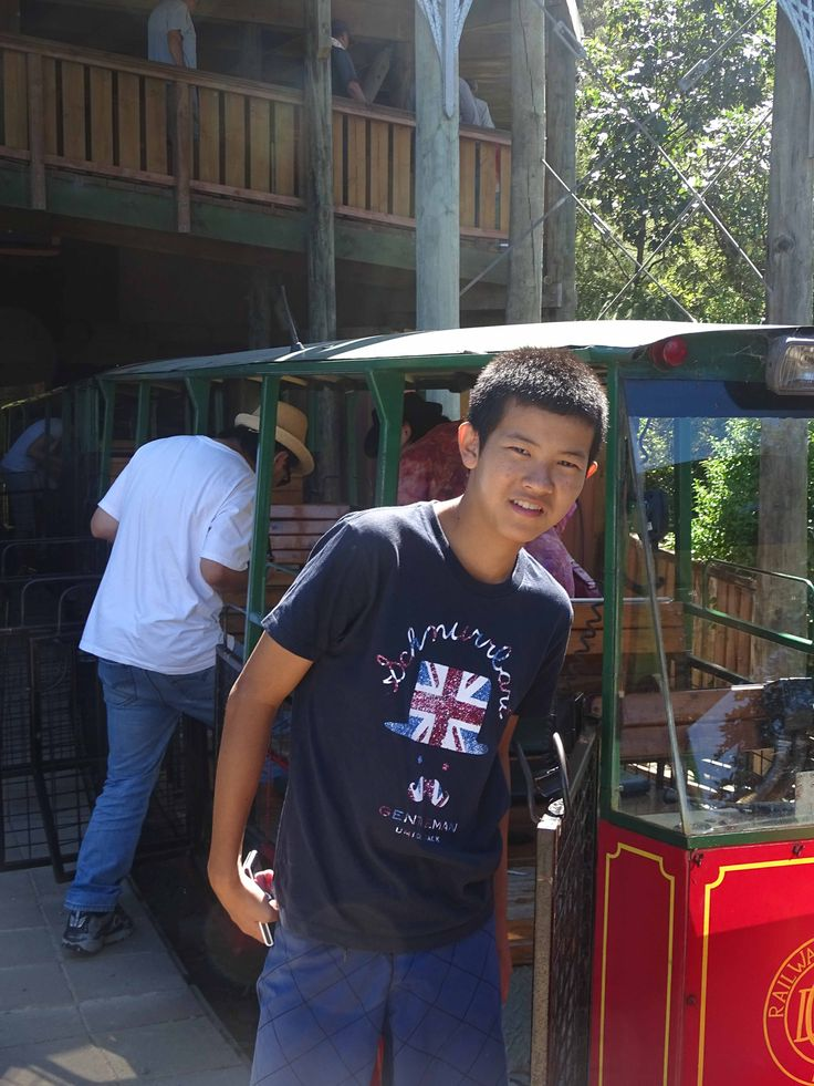 Naoya at Driving Creek Railway early 2015