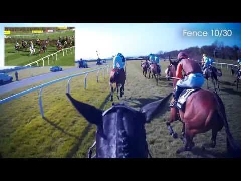 JOCKEY CAM: Many Clouds wins the 2015 Crabbie's Grand National - YouTube