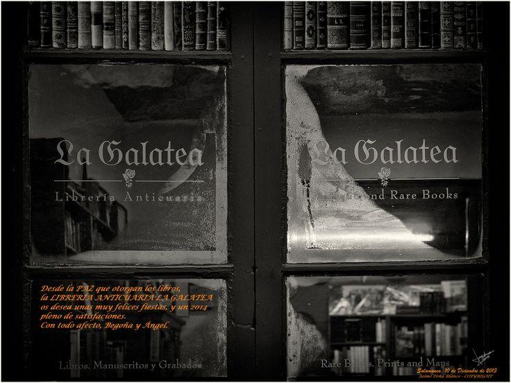 Happy merry christmas for #lagalatea #bookstore #Salamanca #Spain