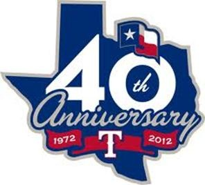 Texas Rangers 40 years!  To another World Series appearance!