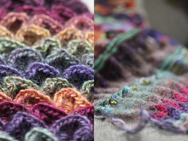 .: Color, Beautiful French, Wool, Muted Tones