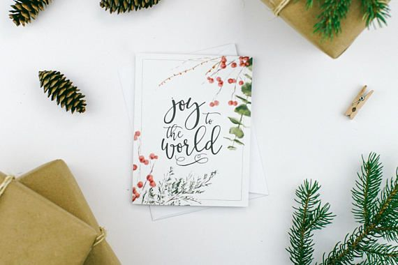 A great way to share the birth of our Savior and say Merry Christmas this holiday season. The added bonus of the wax sealed envelopes gives that special touch to anyone receiving it! ♥ In this set of 8 cards, you will receive: 2x For to us a child is born 2x Merry and bright 2x A Savior