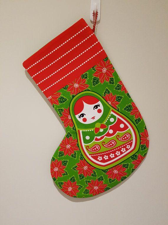 Check out this item in my Etsy shop https://www.etsy.com/au/listing/479608817/handmade-babushka-christmas-stocking