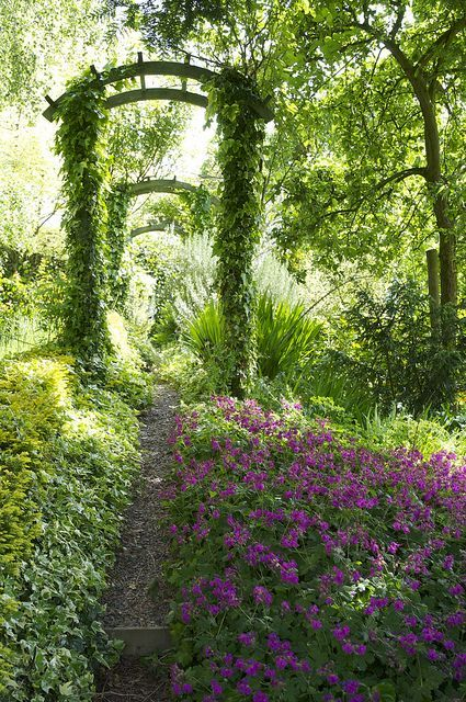 The Laskett garden, Herefordshire (England)