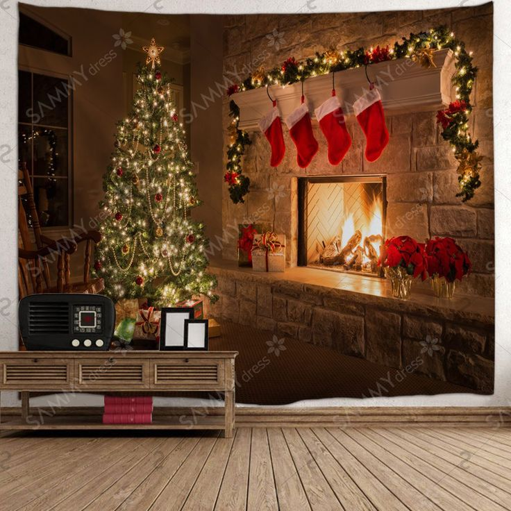 Fireplace Ideas For Christmas: 25+ Unique Christmas Fireplace Ideas On Pinterest
