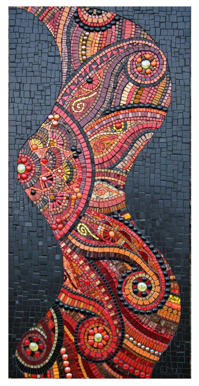 Mosaic red101x by julieedmunds mosaic on deviantart for Dekoration mosaik