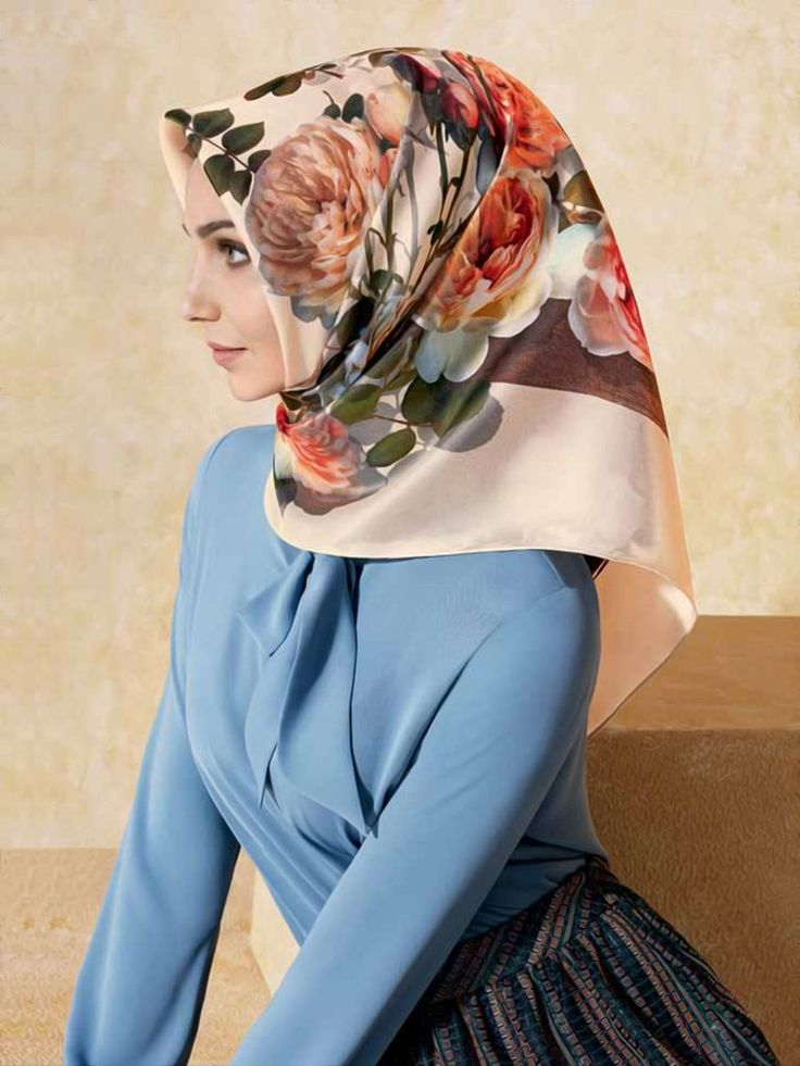 Armine Cesme Silk Hijab - Beautiful Hijab Styles