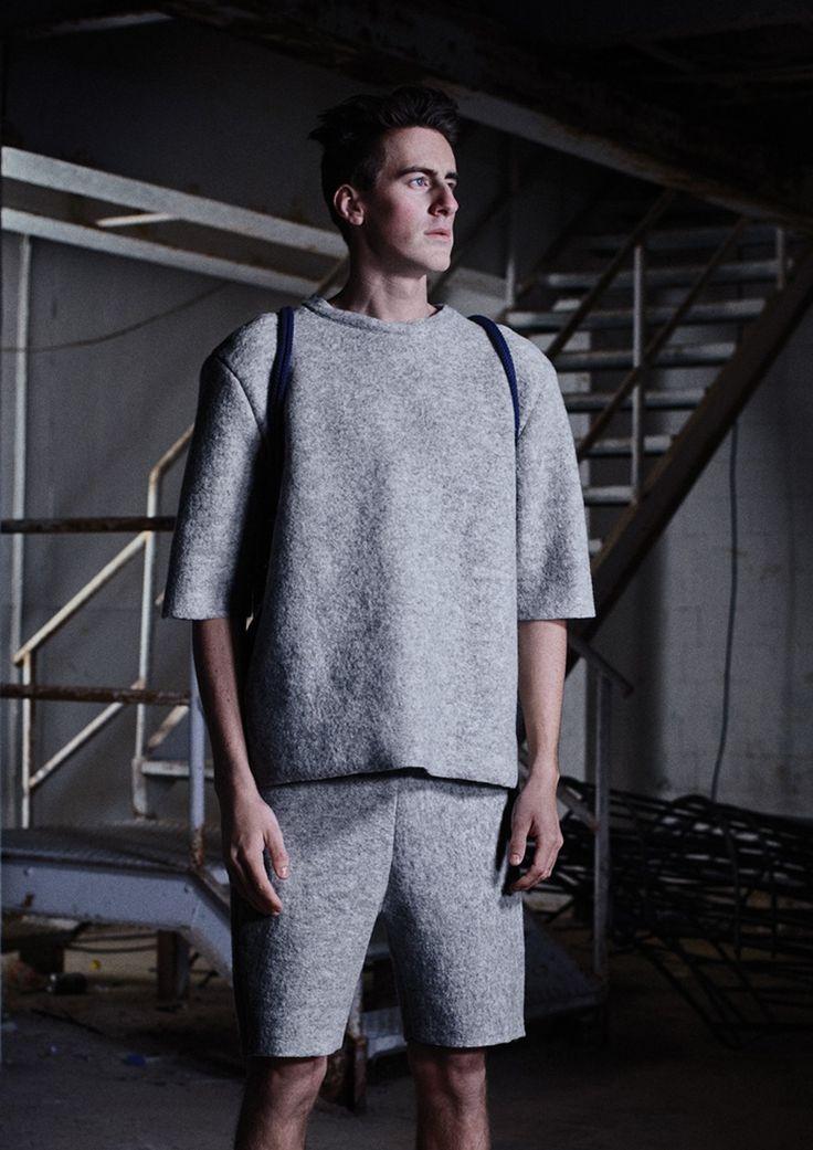 Handmade wool T - Norwegian design