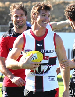 PHOTOS: Wednesday Training - Official AFL Website of the St Kilda Football Club  love ya Lenny