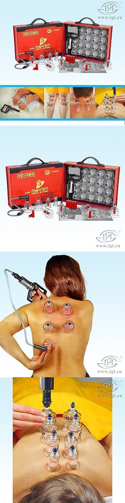 Acupuncture: Hansol Cupping Set 19 Cups Chinese Massage Therapy Body Vacuum Suction Machine -> BUY IT NOW ONLY: $38.83 on eBay!