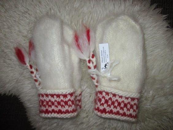 Här kommer mönster på Lovikkavantar. Jag har stickat i Lovikkagarn (100% ull ca 60 m /100g) med strumpstickor 4 mm (stickorna kan ...