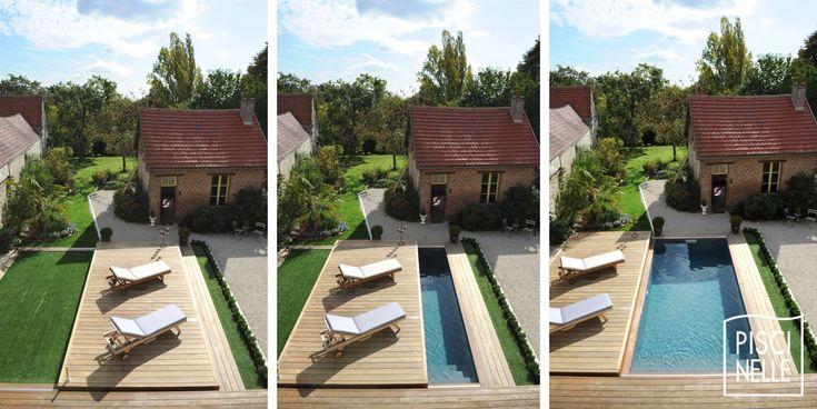 Le plancher mobile Rolling-Deck est une manière esthétique et - location vacances belgique avec piscine