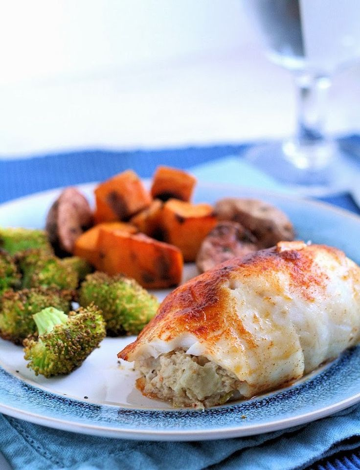 1000 ideas about stuffed tilapia on pinterest tilapia for Crab stuffed fish